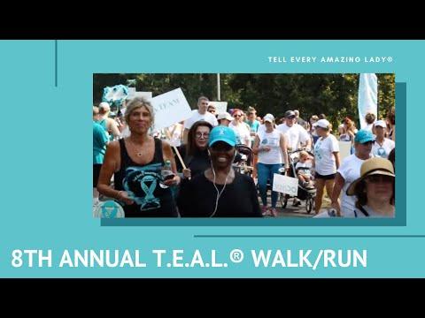 8th Annual Brooklyn Ovarian Cancer T.E.A.L.® Walk/Run Crowd Video 2016