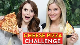 Download CHEESE PIZZA CHALLENGE ft iJustine! Video