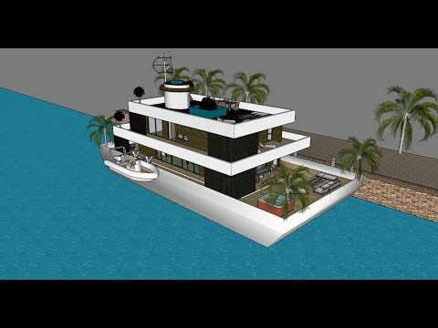 Innovative houseboat grand designs houseboat 2017 Dubai - unforgettable 9 houseboat