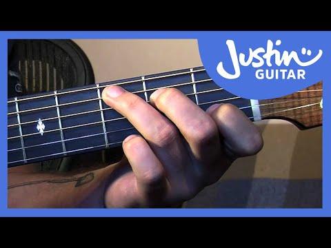 Basic Fingerstyle Guitar - Waltzing Matilda - Folk Guitar Lesson [FO-107]
