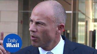 Michael Avenatti defends Kavanaugh accuser outside federal court