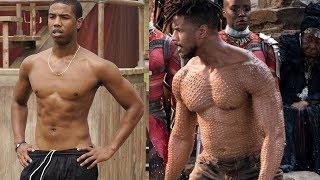 Michael B. Jordan Body Transformation for Black Panther