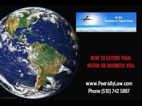 B1 visa or B2 visa extensions | Extend Visitor Visa or Business Visa