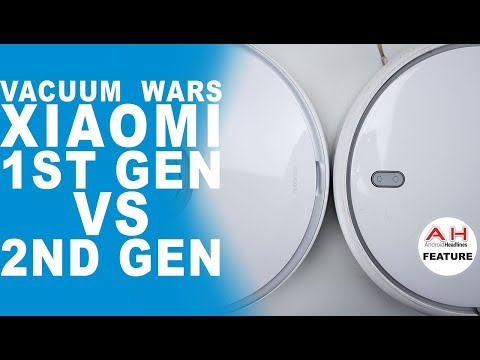 Xiaomi 1st Gen vs 2nd Gen Robot Vacuum Review