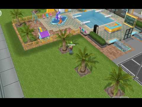 The sims free play (birds feeding)