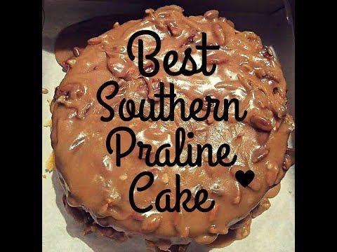 Southern Praline Cake Glaze