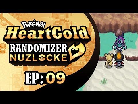 Pokemon HeartGold Randomizer Nuzlocke - EP09 | A Glimpse of Suicune!