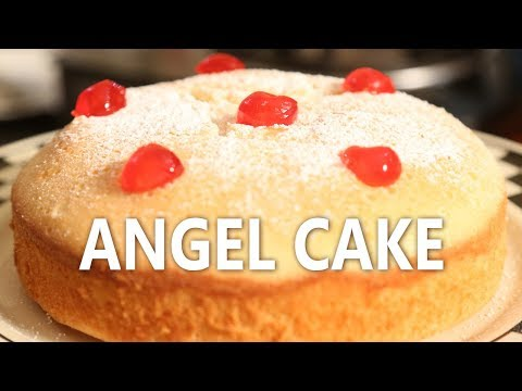 Angel cake (White cake) | Mallika Joseph Food Tube