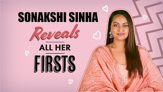 Dabangg 3 star Sonakshi Sinha reveals all her FIRSTS. | Pinkvilla | Bollywood
