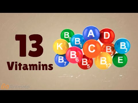 The ABCD's of Vitamins