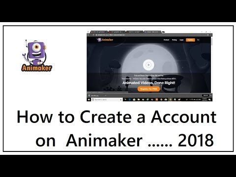 How to Create an Account on Animaker
