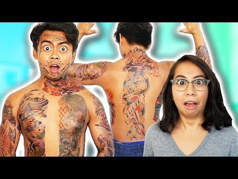 Tattoo Prank On My Girlfriend!
