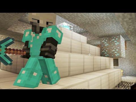 UNDERGROUND BEACON - Let's Play Minecraft Episode 109 - Found Diamonds