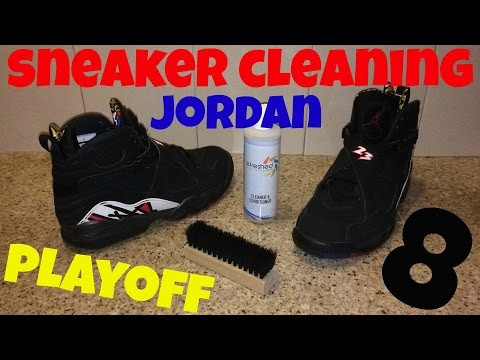 Sneaker Cleaning for Air Jordan 8