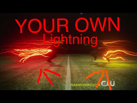 (THE FLASH) How To Create Your Own Lightning Trail In After Effects!!!