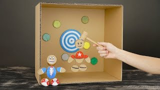 Download DIY How to Make Kick the Buddy Game from Cardboard Video