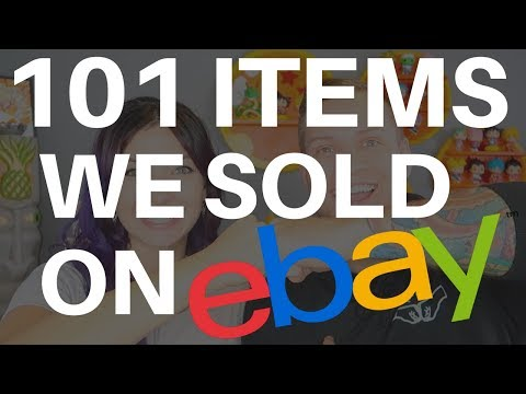 101 ITEMS WE SOLD ON EBAY IN 2017 + Thrift Haul + Yard Sales = BEST RESELLER VLOG EVER | 2018