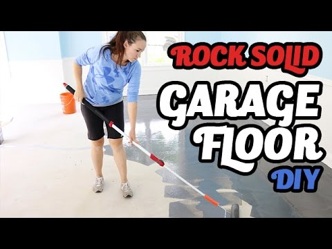 How to apply Rock Solid to your Garage Floor - Our Story