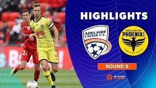 Highlights: Adelaide United 1-2 Wellington Phoenix – Round 8 Hyundai A-League 2019/20 Season