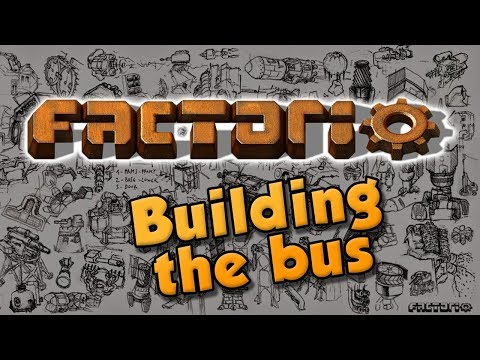 BUILDING THE BUS! ep 2. Factorio 0.16 Let's Play - modded