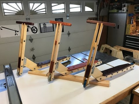 The Saw Table: Wood Scooter 001