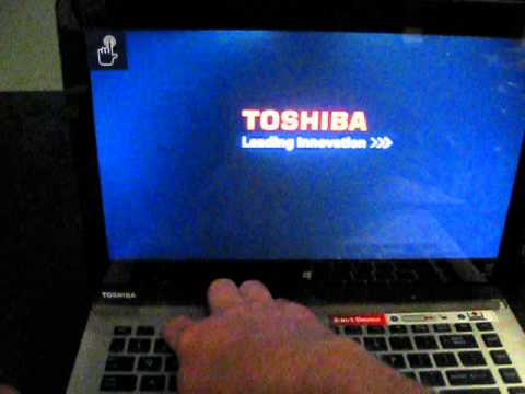 Accessing the BIOS of Toshiba Click 2 tablet