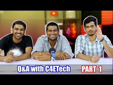 Q&A with C4ETech & AllAboutTechnologies!