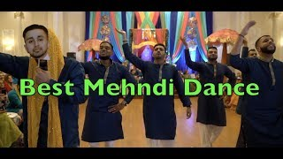 BEST MEHNDI DANCE EVER | Silman Saleem | High Rated Gabru | Sanju | Salman Khan | Naah | Nicky Jam