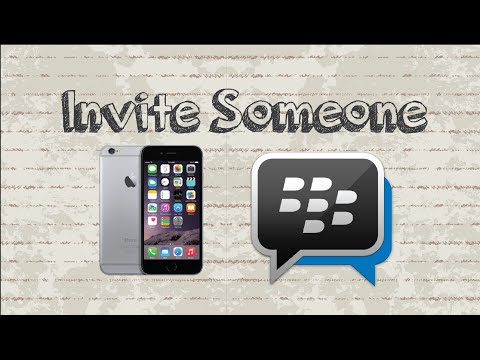 How to invite someone on BBM | Mobile App (Android & Iphone)