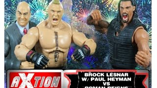 Roman Reigns vs Brock Lesnar