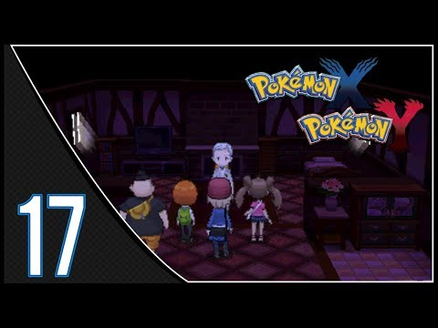 Pokemon X & Y Walkthrough: Part 17 - Haunted House + Route 14