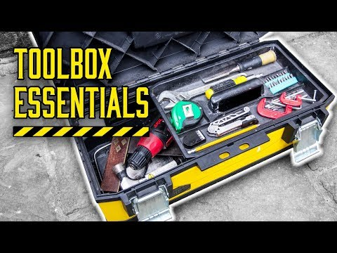 10 ESSENTIAL tools for YOUR toolbox