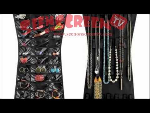 hanging jewellery organizer