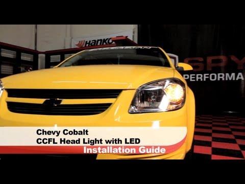 Spyder Auto Installation: 2005-10 Chevrolet Cobalt/Pontiac Pursuit/G7 Projector Headlights