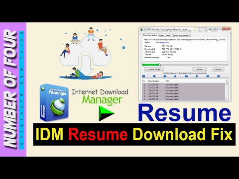 IDM Cannot Resume Downloading The File | How to fix Resume Download in IDM