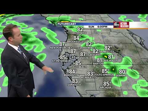 Florida's Most Accurate Forecast with Jason on Sunday, May 27, 2018