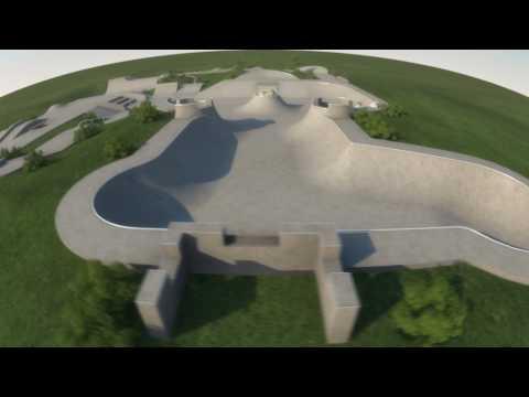 Midsomer Norton Skatepark design