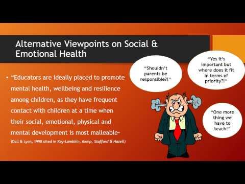 Improving the social & emotional health of students Karlie Rowe