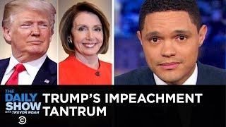 Another Trump Temper Tantrum? Depends Who You Ask   The Daily Show