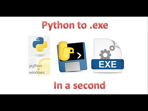 Make an executable file from Python