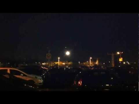 Heathrow Night Landing