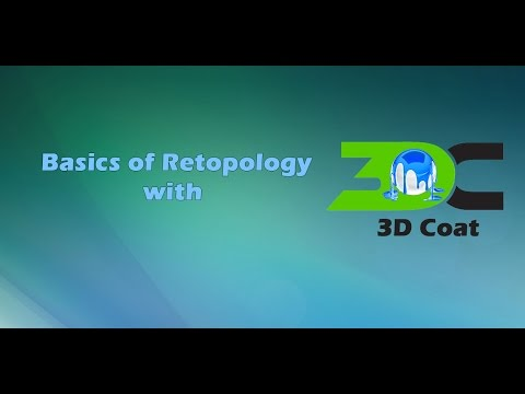 Retopology with 3D Coat