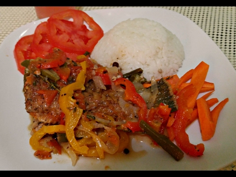 How to make Jamaican Brown Stew Fish