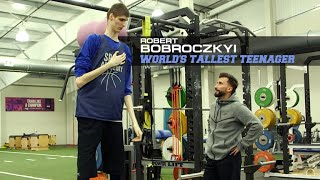 Catching up with world's tallest teenager