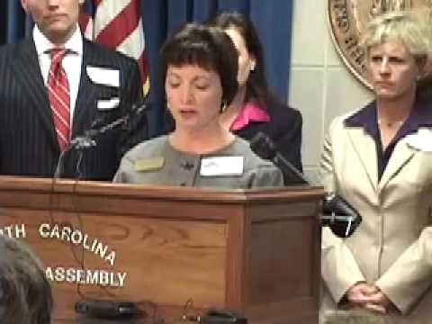 Sheri Strickland (President NCAE) Speaking at Prevent School Violence NC Press Conference