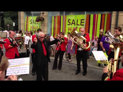 Pittington Brass Play One Last Tune