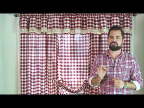 Achim Buffalo Check Curtain Video