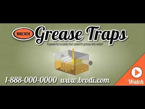 Brodi Grease Trap Automated Enzyme Cleaning Solution
