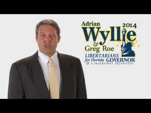 Take a Stand ~ Vote Adrian Wyllie for Florida's Governor Campaign Ad