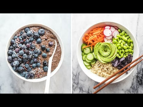 What I Eat In A Day as a Vegan: Spring Edition!